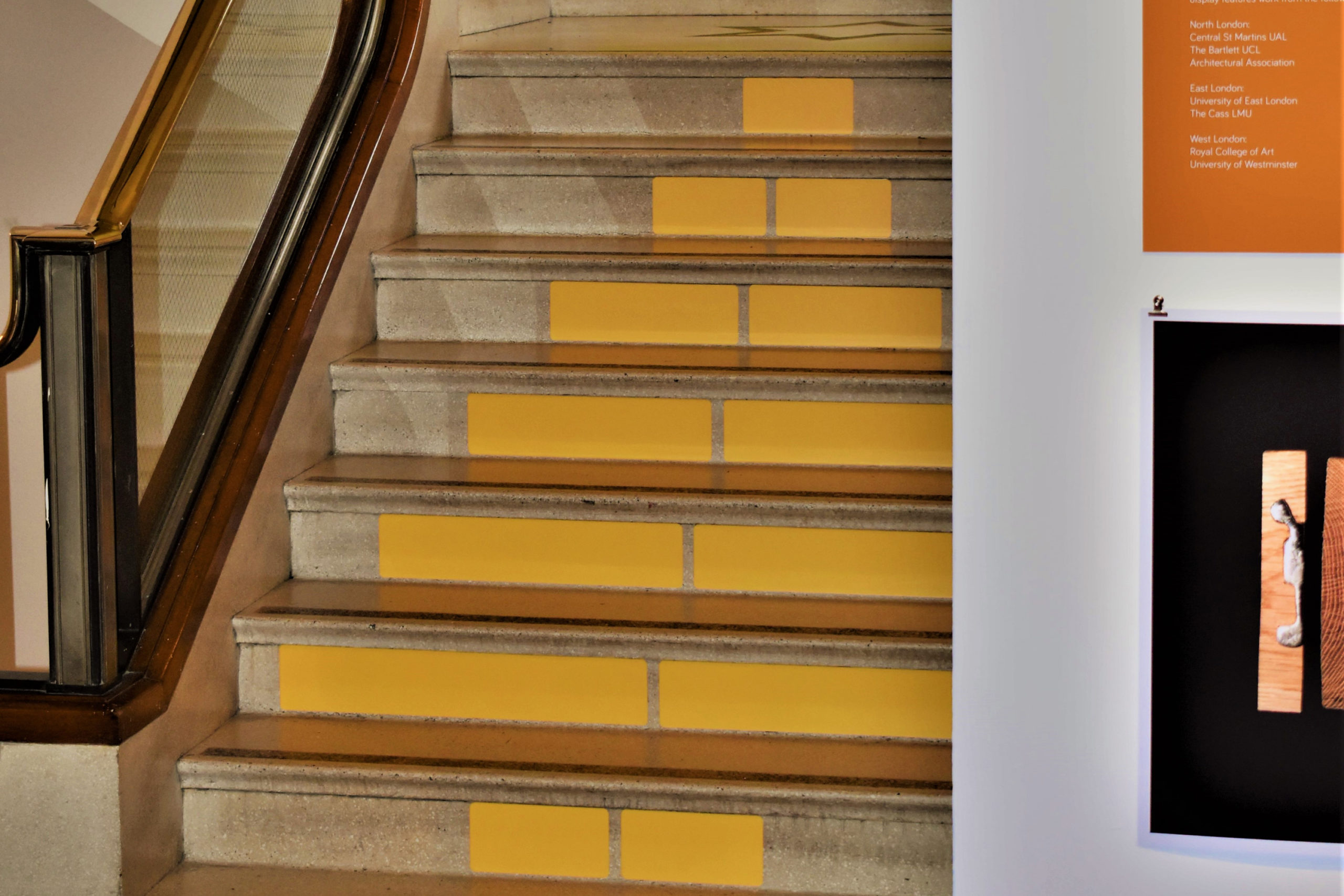 Stair colour coding